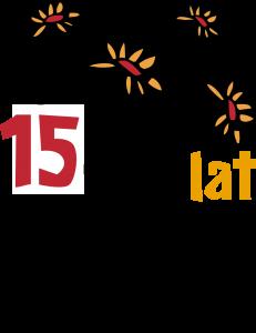 logo 15 lat dzialaj lokalnie maj 2015